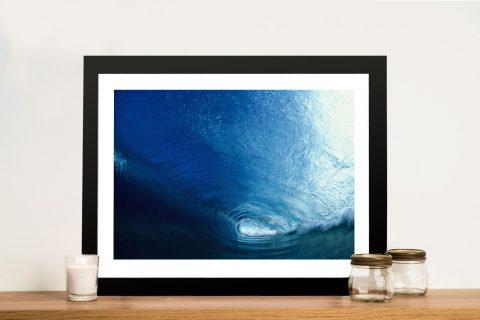 Glass Curtain-vortex Surf Framed Wall Art