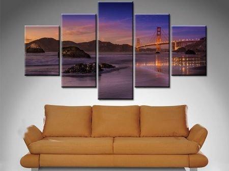 Golden Gate 5 Panel