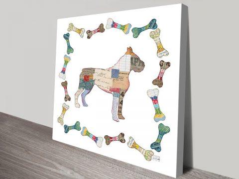 Good Dog I Art Print on Canvas