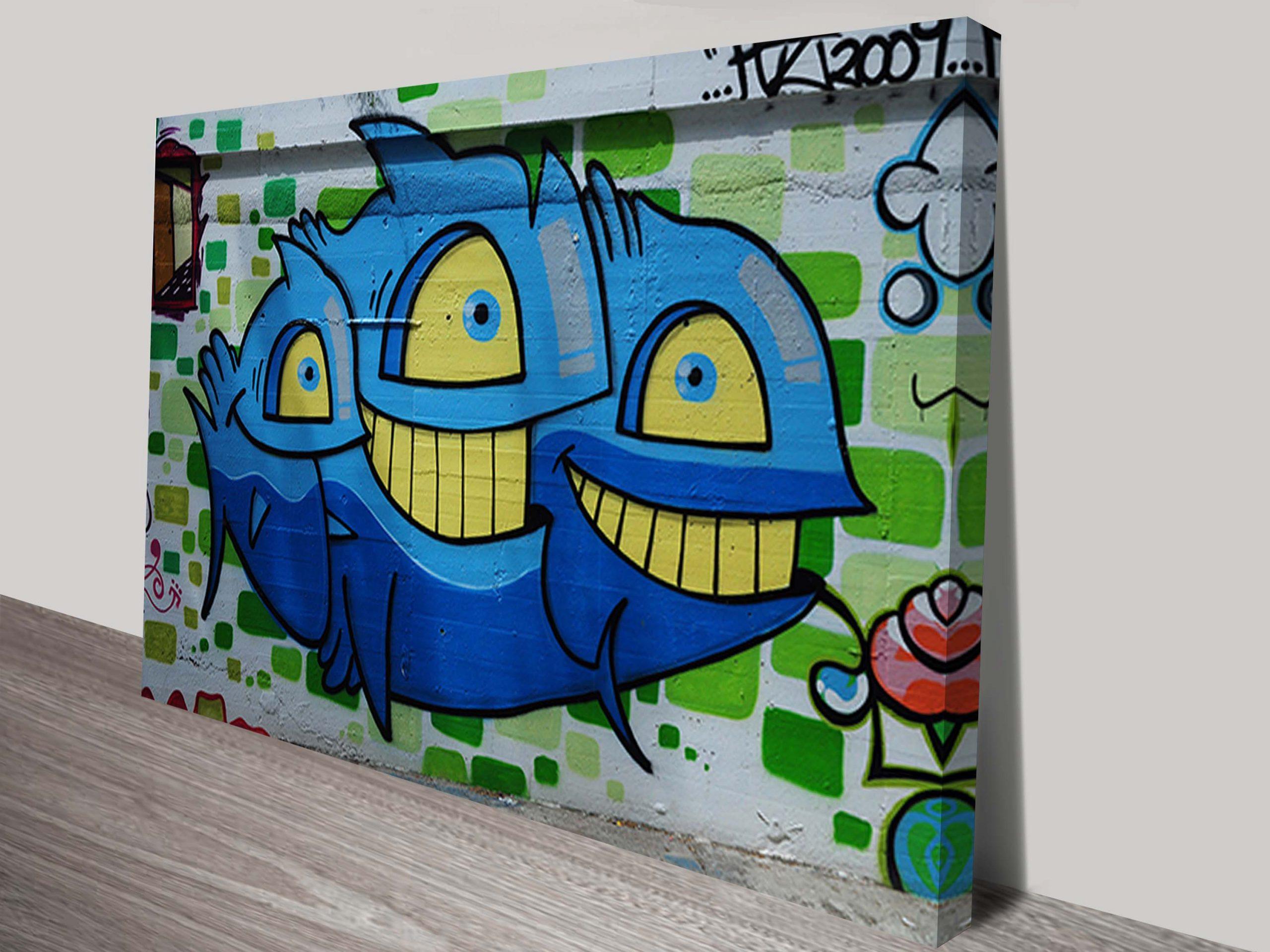 Canvas Graffiti Art Sydney