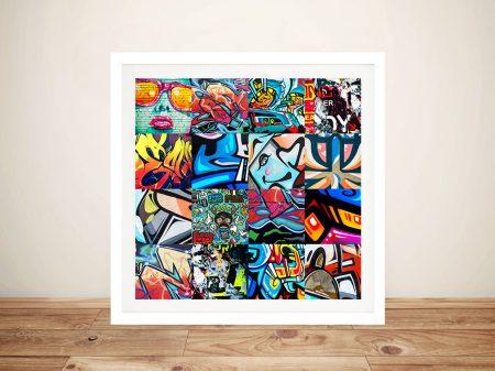 Buy Graffiti Montage Punked Street Art
