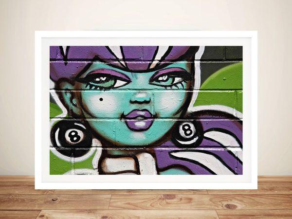 Street Art Framed Wall Art