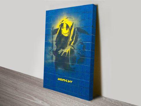 Grim Reaper Banksy Canvas Print