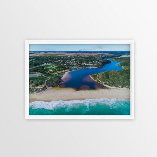 Guilderton From the Ocean Frame Wall Art