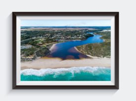 Guilderton From the Ocean Frame Wall Art