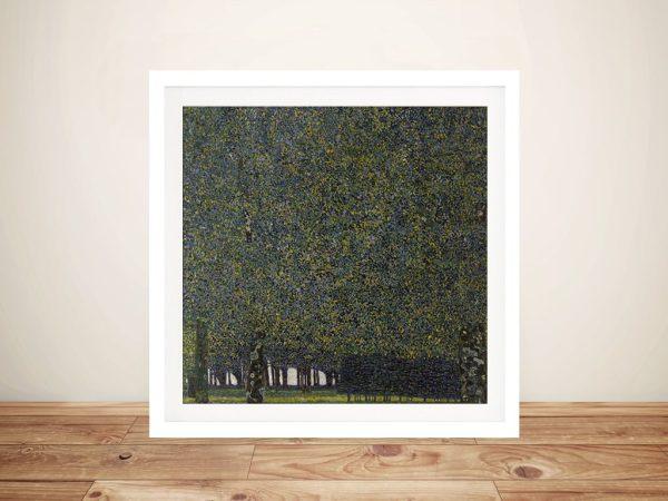 Buy The Park Classic Klimt Art Print