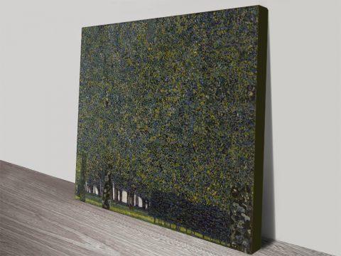 Canvas Wall Art Print The Park by Gustav Klimt
