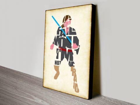 Han Solo Typographic Star Wars Fan Art