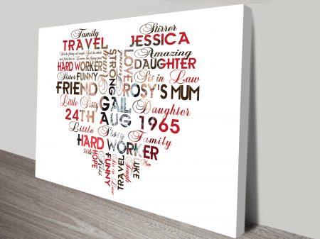 Bespoke Personalised Gifts & Custom Wall Art