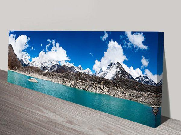 Himalayan Panorama Canvas Print