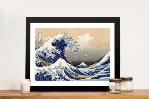 The Great Wave of Kanagawa Canvas Art Print