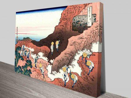 Hokusai - Close to Mount Fuji Classical Japanese Art
