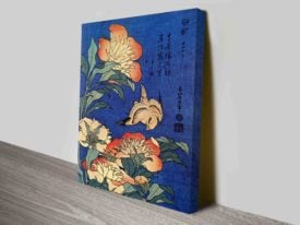Hokusai - Flowers Traditional Online Art