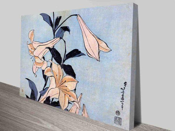 Buy a Hokusai Floral Classic Art Gift Ideas AU