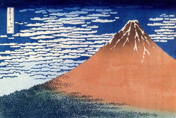 Hokusai Mount Fuji Giclee Canvas Art