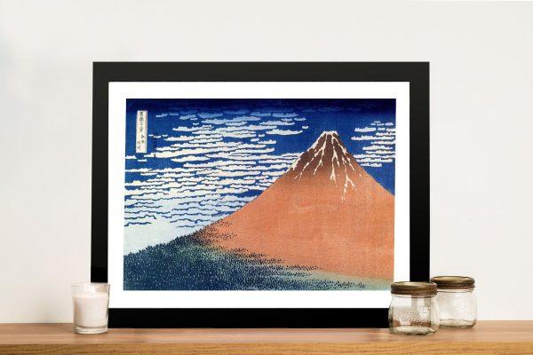 Buy Hokusai Mount Fuji Framed Art Australia
