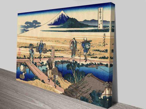 NAkahara In The Sagami Province Classic Art Canvas