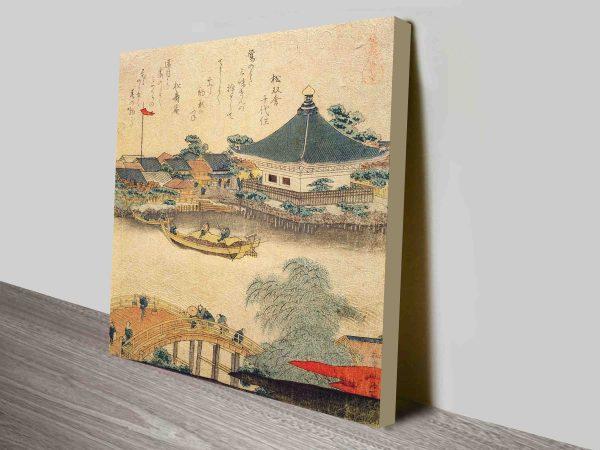 The Shrine Komagata Do In Komagata Classic Japaese Religous Art Concepts