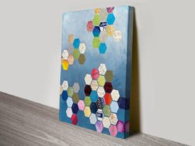 Honeycomb Canvas Art