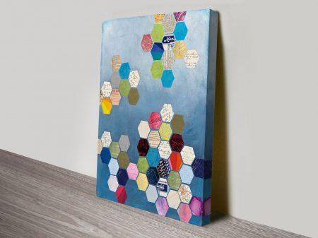 Honeycomb Canvas Art
