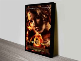 Catching Fire Movie Poster Print