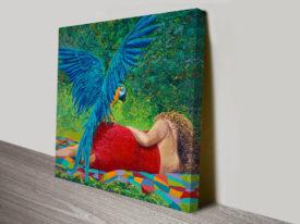 Birds Of Paradise Iris Scott Canvas Artwork Print