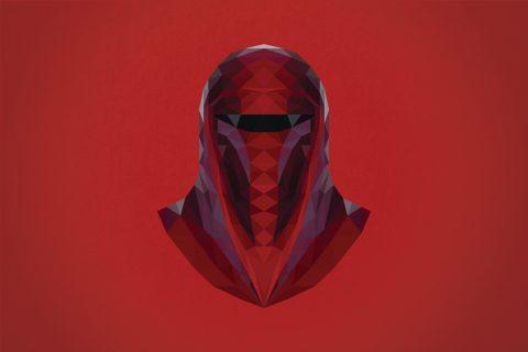 Imperial Guard Helmet Canvas Art Prints