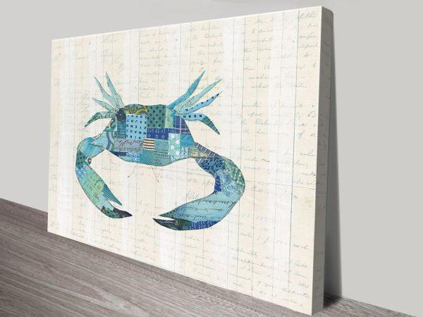 Buy In the Ocean II Framed Canvas Art