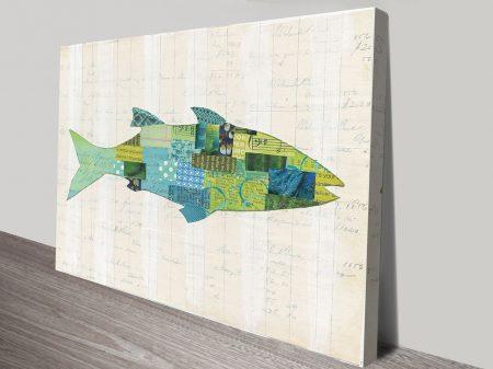 Buy In the Ocean III Colourful Framed Art