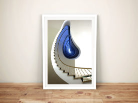 Infinity Steps Abstract Architectural Photo Art