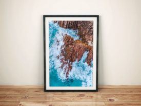 Injidup Matt Day Surf Framed Wall Art Prints