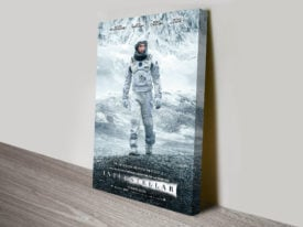 Interstellar Sci-Fi Movie Posters Print