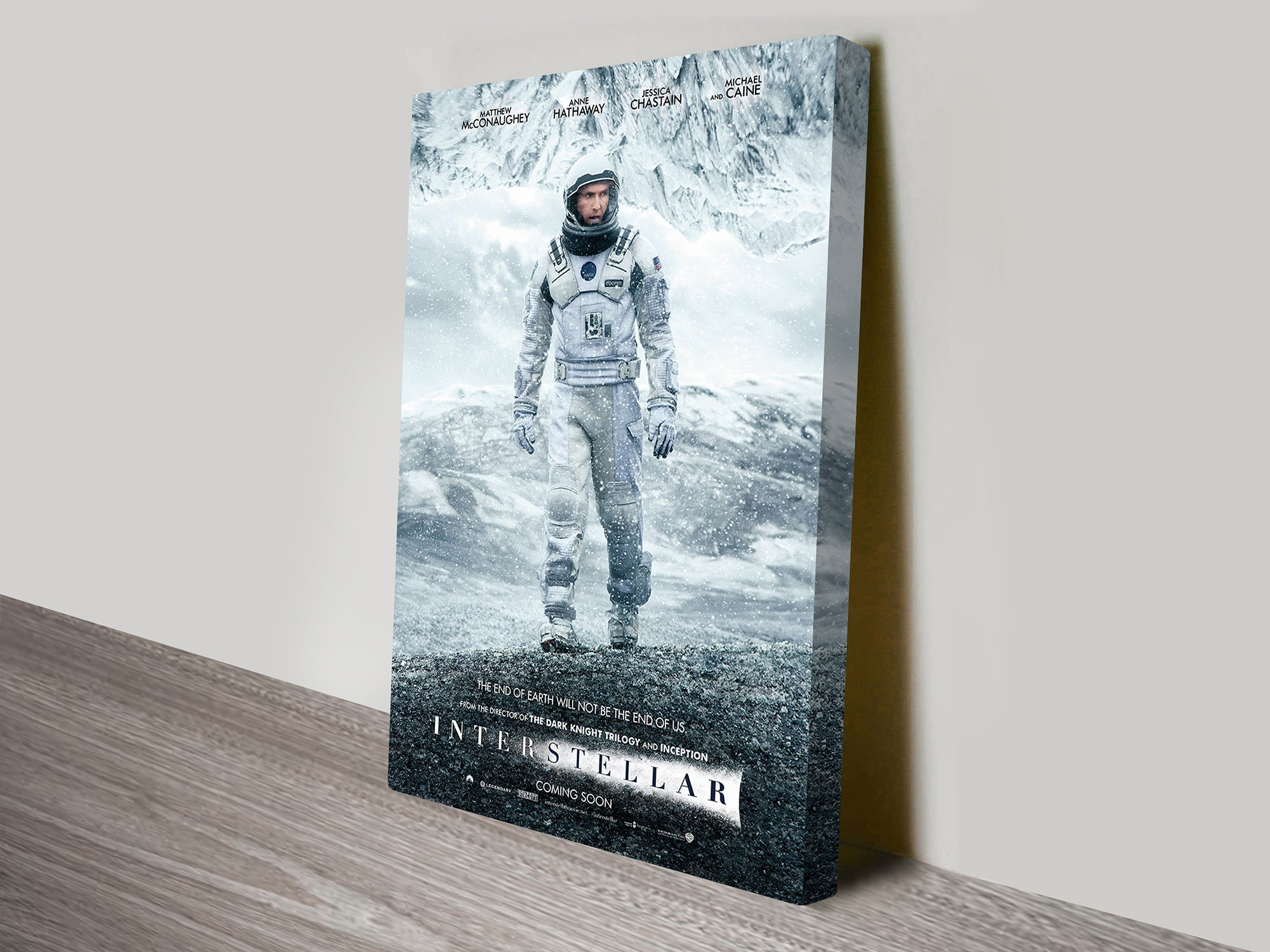 Interstellar Sci-Fi Movie Posters Print