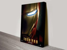 Iron Man Movie Poster Canvas Print