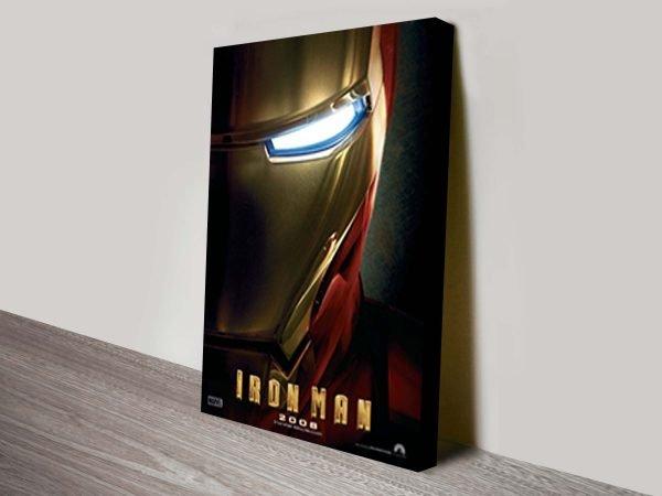 Iron Man Movie Poster Canvas Print