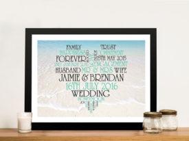 Heart & Photo Background Word Cloud Art