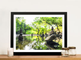 Japanese Garden Tranquility Framed Wall Art