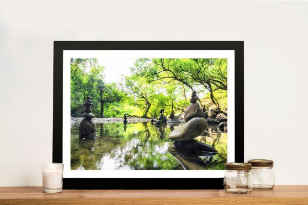 Japanese Garden Tranquility Framed Wall Art