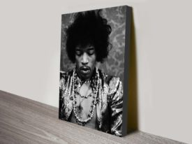 Jimi Hendrix pop art canvas