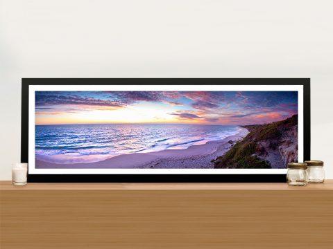 Jindalee Sunset Panorama Australian Landscape Wall Art Print