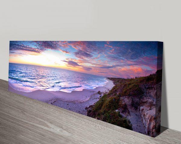 Jindalee Sunset Panoramic Canvas Print