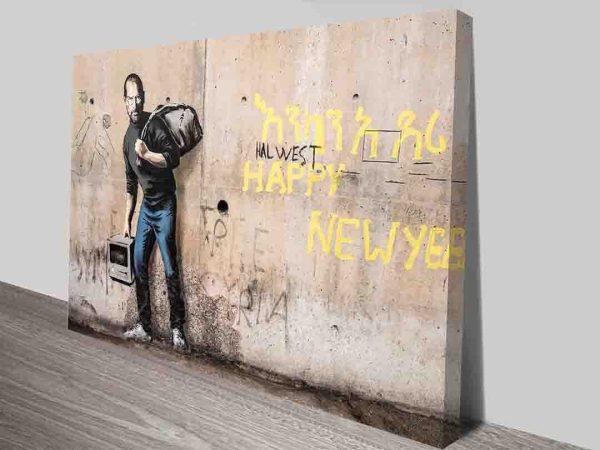 Halwest Job Banksy Canvas Wall Art