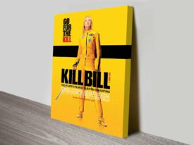 Kill Bill Vol 1 Movie Poster Canvas Print