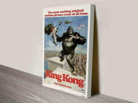 King Kong Movie Poster Canvas Print