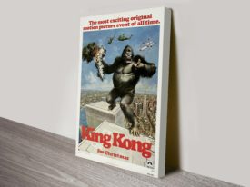 King Kong Movie Poster Canvas Print