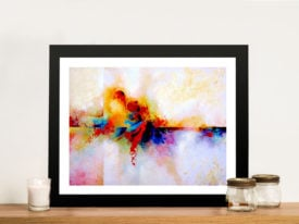 La Luz I Abstract Framed Wall Art