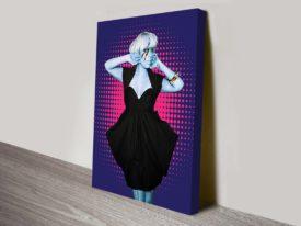Lady Gaga pop art