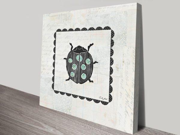 Ladybug Stamp Artwork | Print