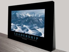 Leadership Motivational Art for business