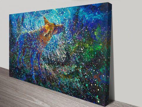 Lobo del Cielo Iris Scott Art